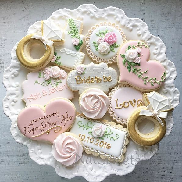 The Best Ideas For Decorated Wedding Cookies