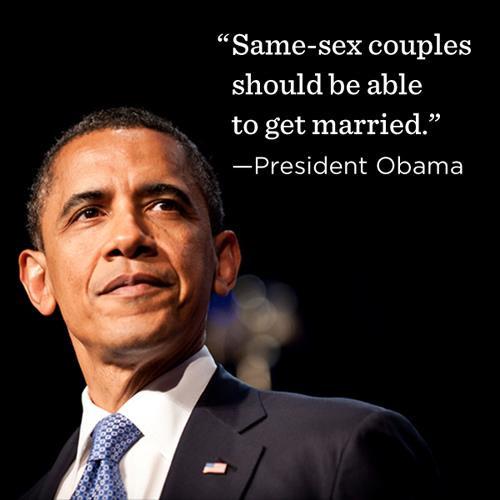 Obama Calls Gay Marriage Case Plaintiff