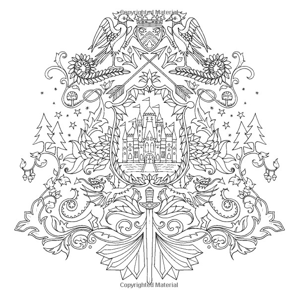 The Best Ideas for Adult Coloring Books Enchanted forest ...