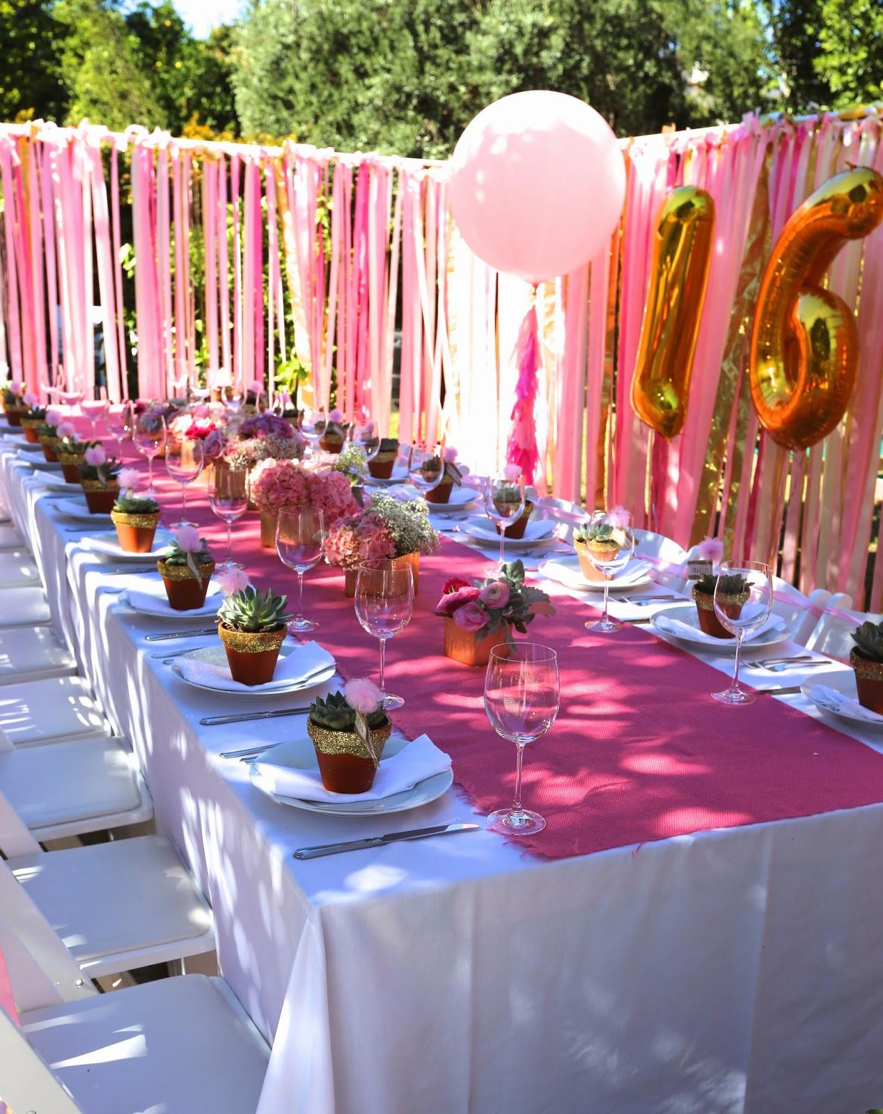 23 Best Backyard Sweet 16 Party Ideas - Home, Family ...