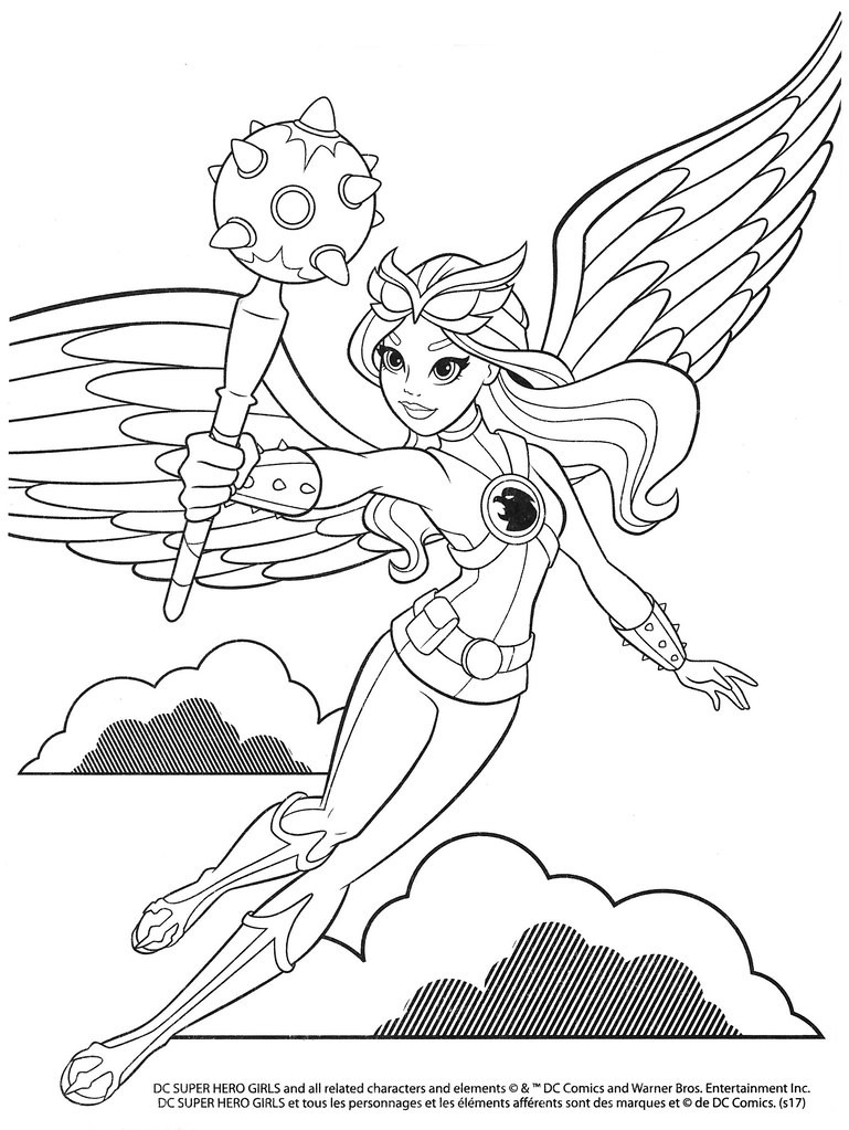 Top 25 Dc Super Hero Girls Coloring Pages - Home, Family ...