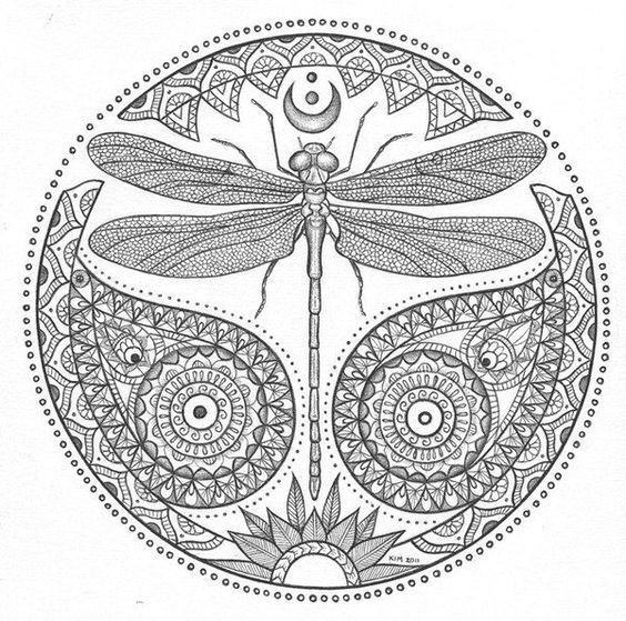 23 Best Dragonfly Coloring Pages for Adults - Home, Family ...