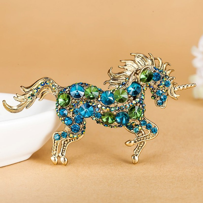 Pins Jewelry Kawaii Horse Brooches Bijuterias Fine Men Jewelry Brand